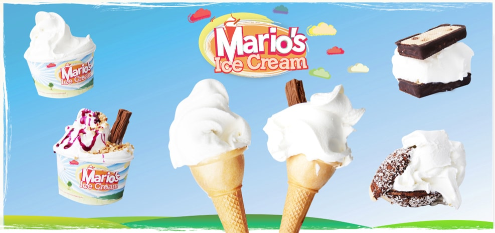 Mario's Ice Cream – Italian gelato home-made in Northampton since 1967.